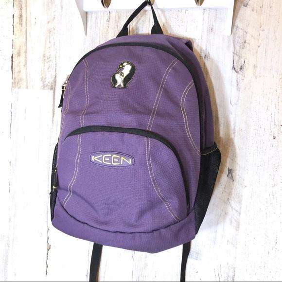Keen Handbags - Purple Keen Penguin Kids Backpack